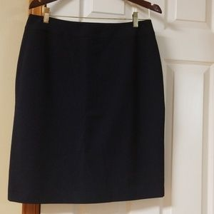 Trousersetc navy pencil skirt